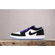 Air Jordan 1 low Black Blue White 553558-108 36-45