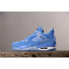 Air Jordan 4 Men Retro UNC PE Blue 1032070 40-46