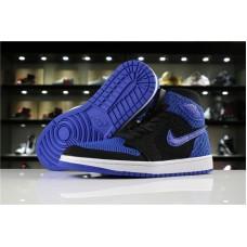 watch e1284 13eb7 Air Jordan 1 Retro Hi Flyknit Royal black blue 40-47.5