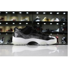 Cheap Jordan 11 Low Barons black sliver Item No 528895-010 36-47