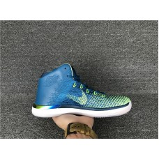 Cheap Jordan 31 Rio blue green Item No 845037-325 40-46