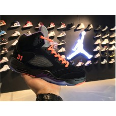 Cheap Jordan 5 Shawn MarionAwayPE black orange 40-47.5