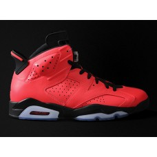 Cheap Jordan 6 red basketball shoes 40-47