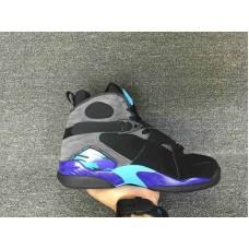 6c1547065e0c54 Cheap Jordan 8 Aqua black blue Item No 305381-025 41-46