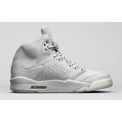 Platinum Luxury --- Air Jordan 5 Premium Pure Platinum