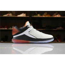 Cheap Air Jordan XXXII Low Like Mike White Black Orange AH3347-100 40-47