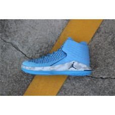 Cheap Air Jordan XXXII UNC Blue Gray AA1253-401 40-47