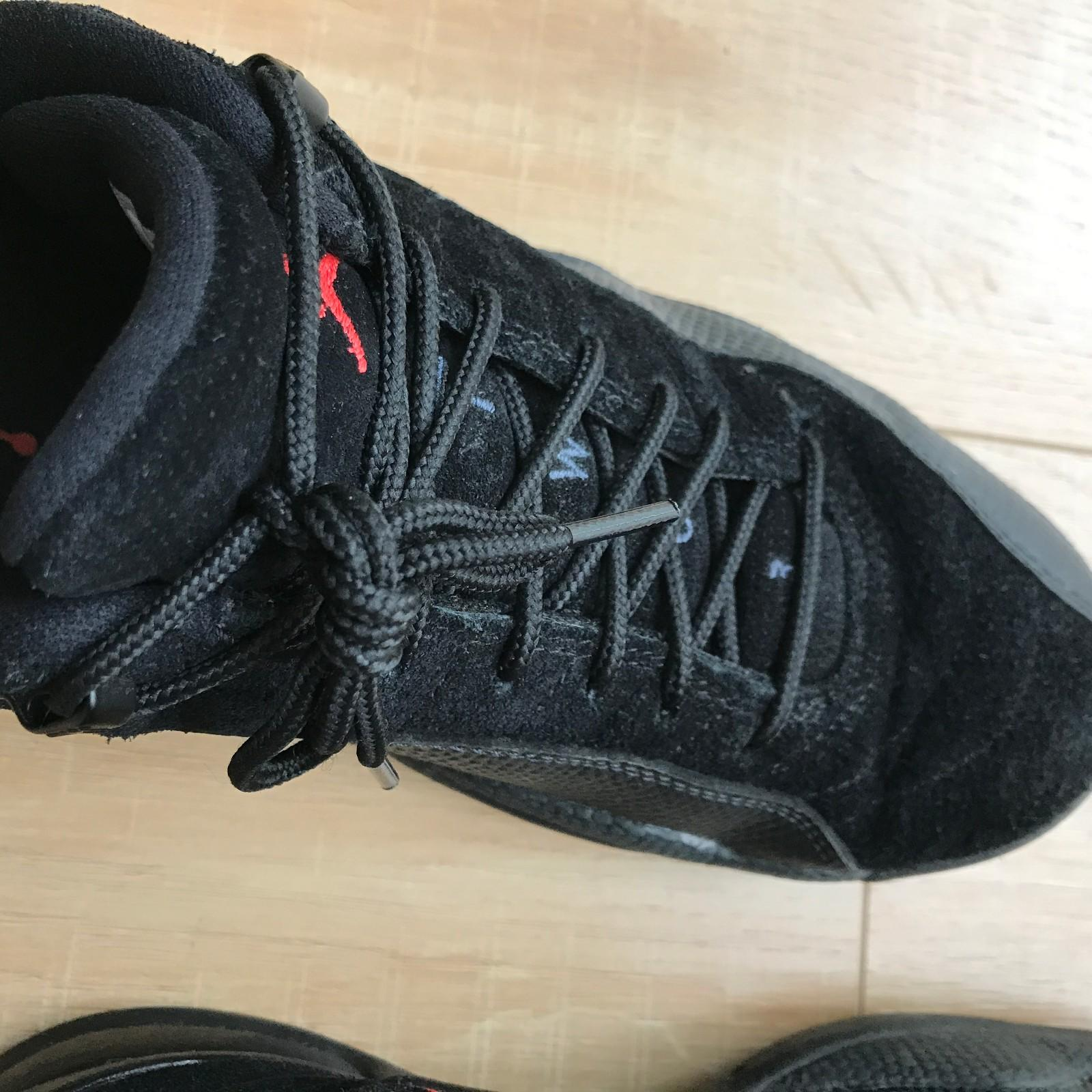 Air Jordan12 Low - Black Orange Storm