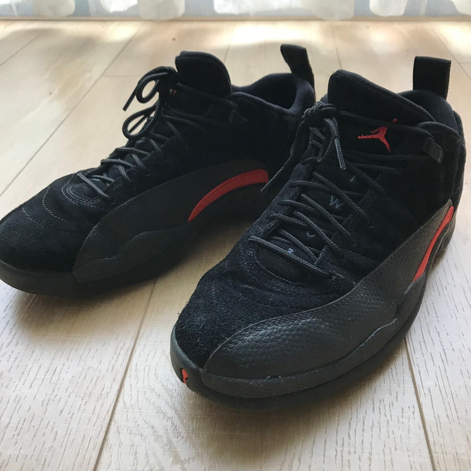 Air Jordan 12 Low - Black Orange Storm